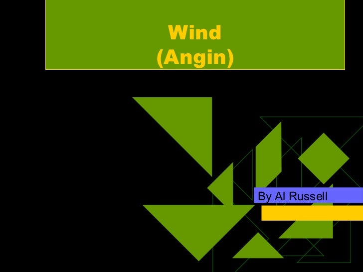 Wind (Angin) By Al Russell