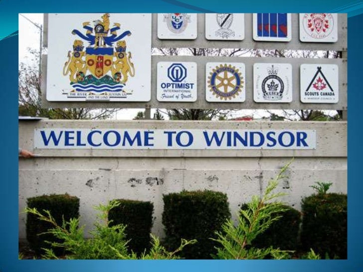 Windsor is located right across the DetroitRiver from Detroit Michigan. Thewaterfront offers a 5km trail, manygardens, art...