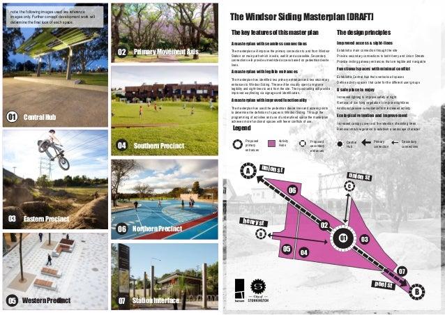 The Windsor Siding Masterplan Draft