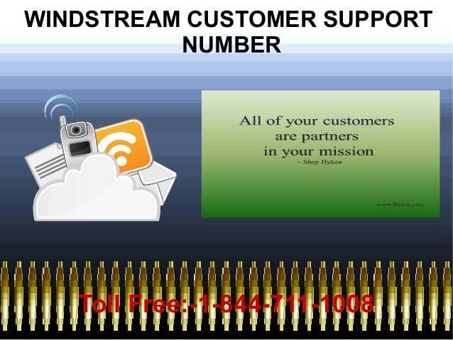 windstream customer service number