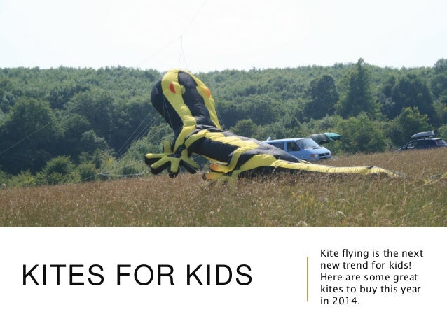 KITES FOR KIDS  Kite flying is the next new trend for kids! Here are some great kites to buy this year in 2014.