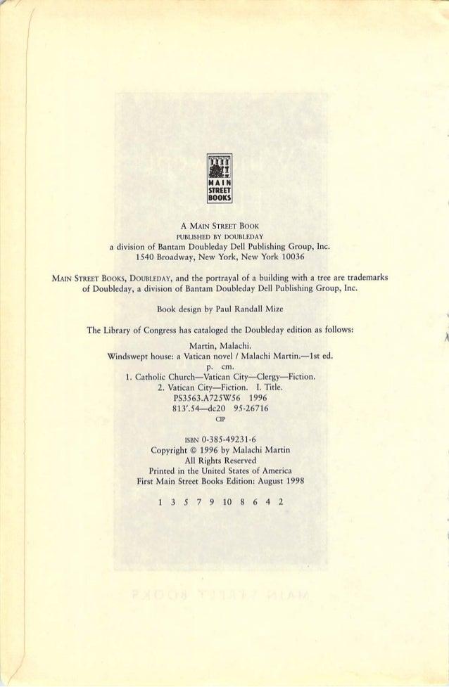 the final conclave malachi martin pdf