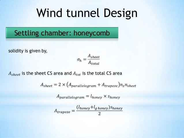 wind tunnel design thesis Licentiate thesis v abstract this thesis deals with the problems of scaling aerodynamic data from wind tunnel conditions to free flight the main challenges when.