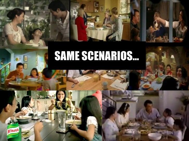 SAME SCENARIOS…