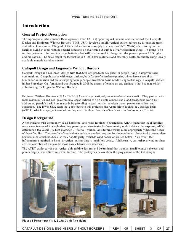 Wind tunnel testing_report Slide 3