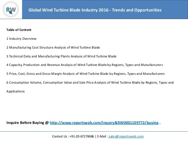 Global Wind Turbine Rotor Blade Market Research Report 2018