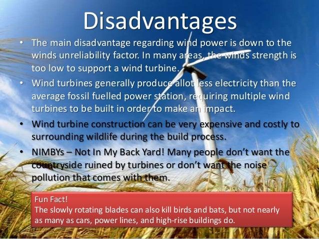 Wind turbines!