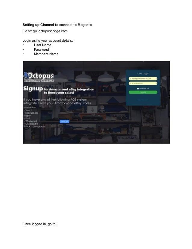Windward Magento Integration - Manuals
