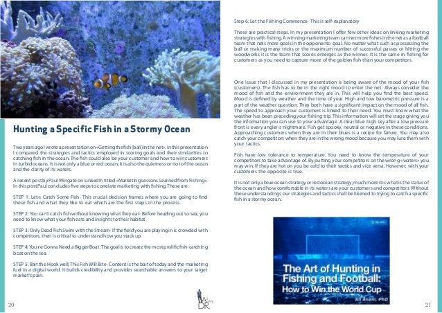 2120 Hunting a Specific Fish in a Stormy Ocean TwoyearsagoIwroteapresentationon«Gettingthefish(ball)inthenet».Inthispresen...