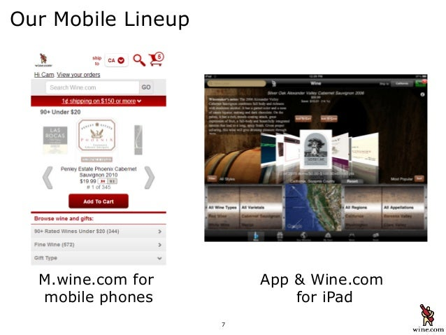Wine: M-Sites Versus Apps