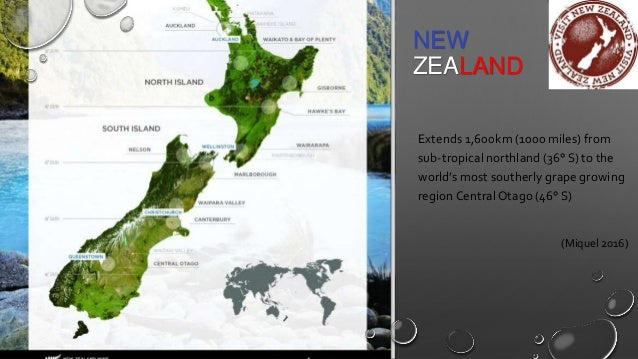 New Zealand Wine Growing Regions Map.All About New Zealand Wines