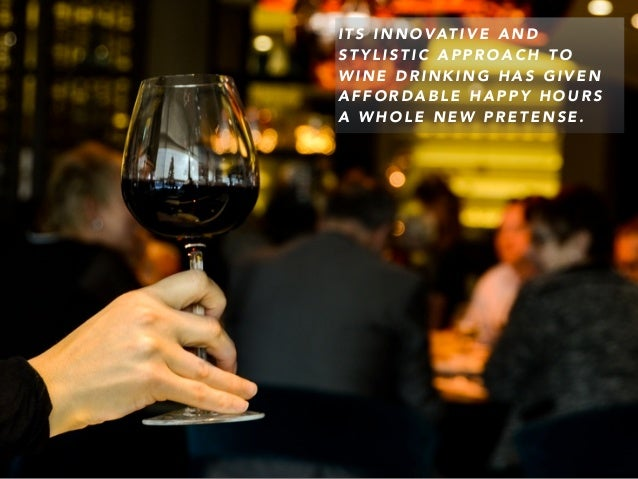Wine Bars in NYC: Chapter 1 by Geoffrey Byruch Slide 3