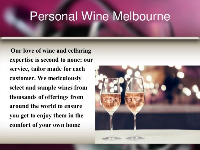 ... or cellar with exemplary wines from around the world; 3.  sc 1 st  SlideShare & Wine Cellar Management Melbourne