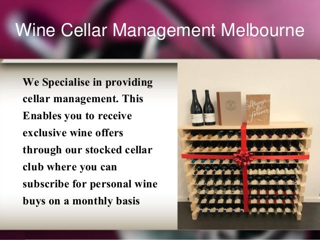 Wine Cellar Management ...  sc 1 st  SlideShare & wine-cellar-management-melbourne-4-638.jpg?cbu003d1497602067