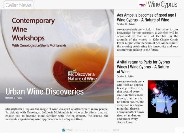 Wine Cyprus Cellar News