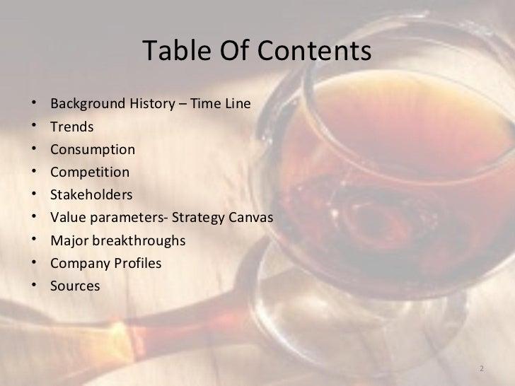 Wine industry Slide 2