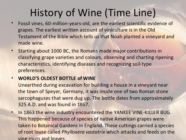 Wine industry Slide 3