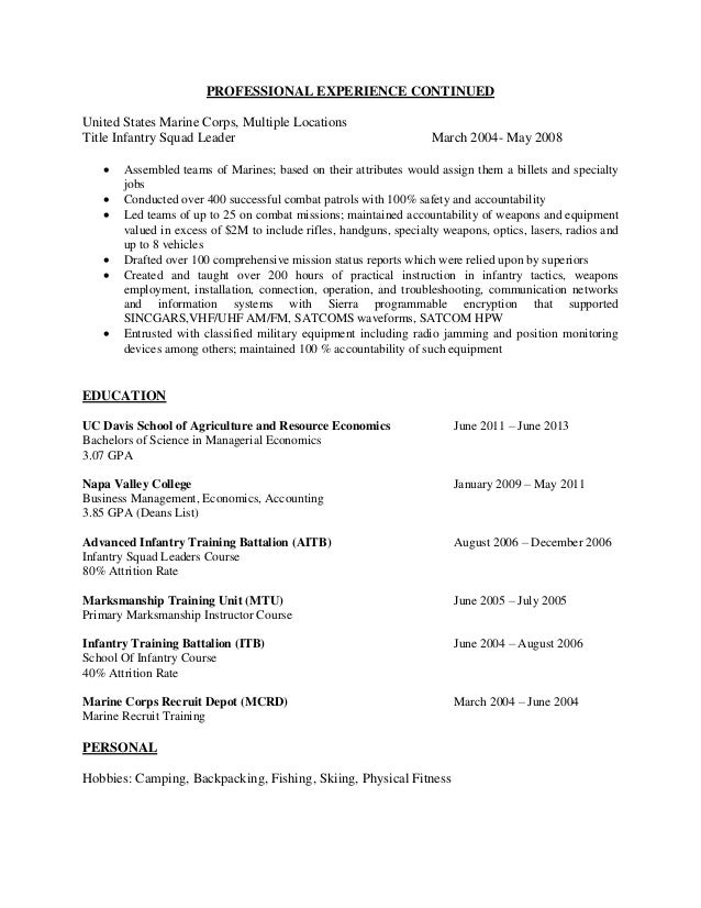 wine industry executive resume 2015