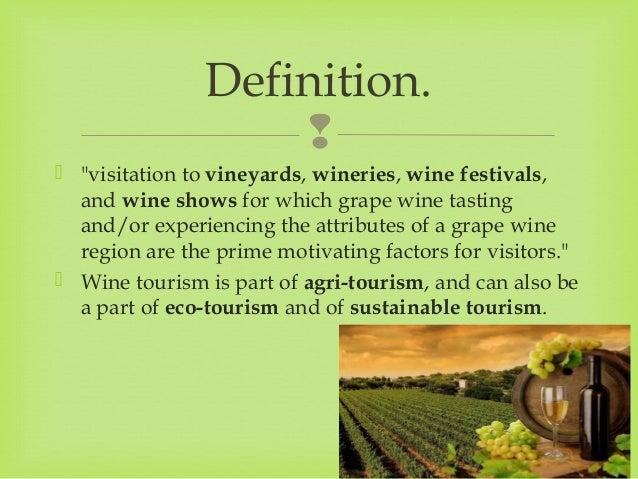 Wine Tourism Slide 2