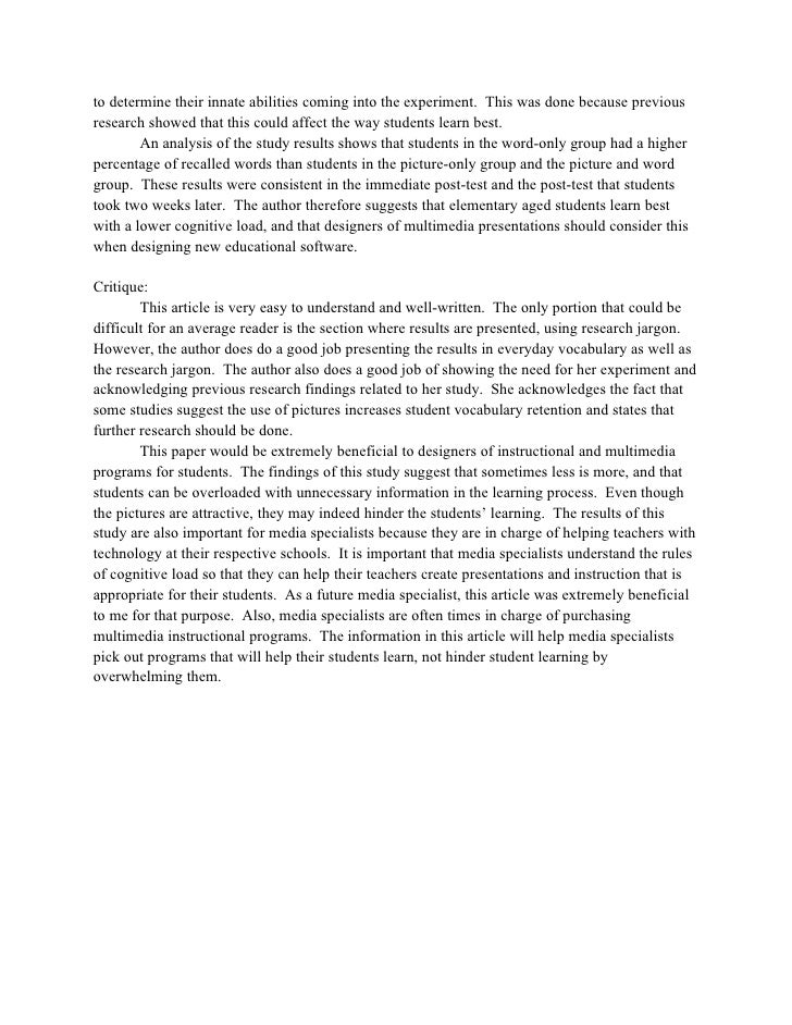 Wingate article critique summary – Flowers for Algernon Worksheets