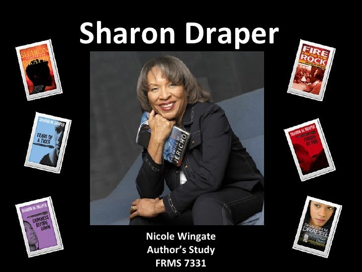 Sharon Draper Nicole Wingate Author's Study FRMS 7331
