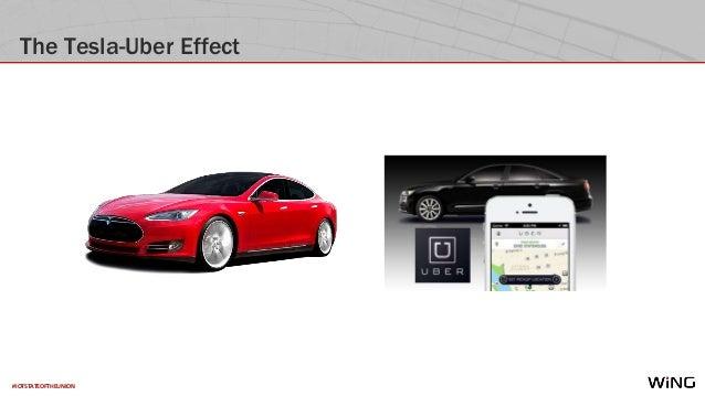 #IOTSTATEOFTHEUNION The Tesla-Uber Effect