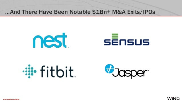 #IOTSTATEOFTHEUNION …And There Have Been Notable $1Bn+ M&A Exits/IPOs