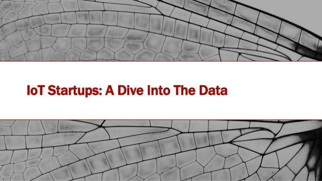 #IOTSTATEOFTHEUNION IoT Startups: A Dive Into The Data