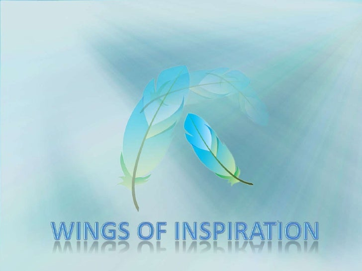 Wings of inspiration<br />