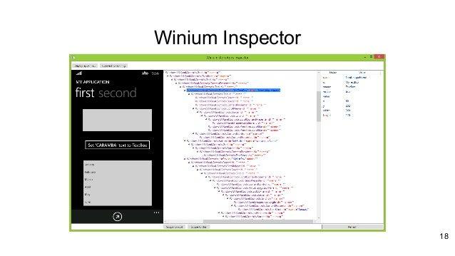 Ui Inspector Windows