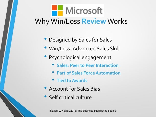 win loss analysis Trinity perspectives delivers outcomes for b2b sales companies through win  loss analysis and sales transformation programs find out how we can help  you.