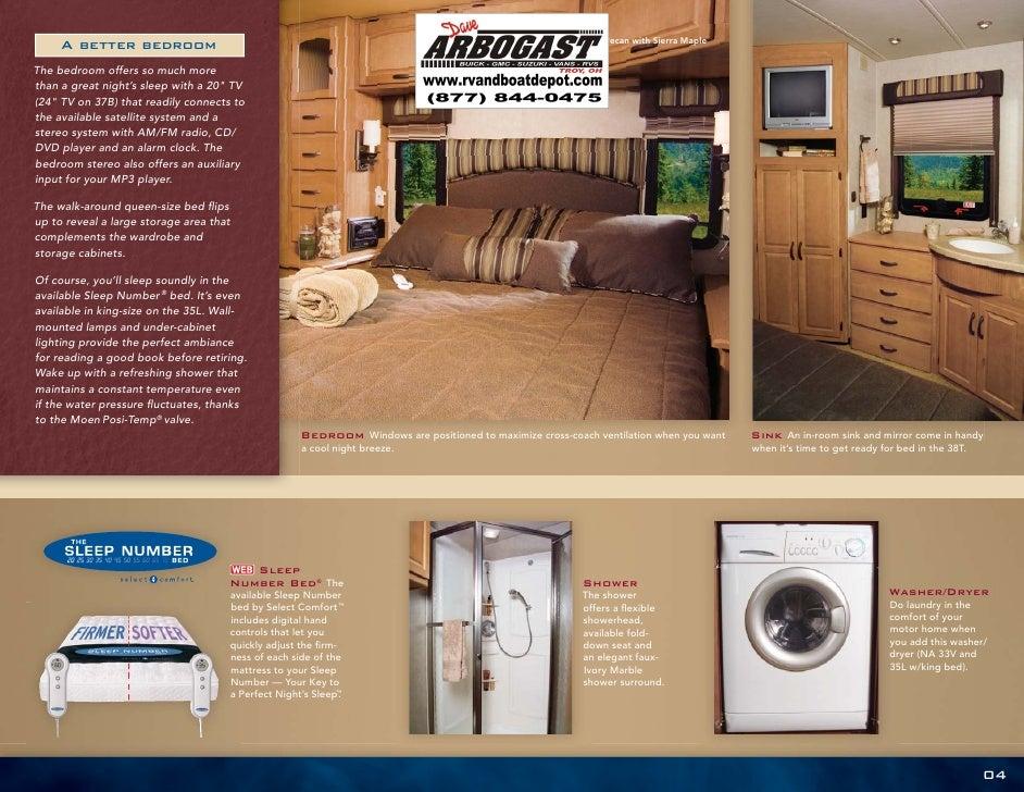 2008 Winnebago Adventurer Brochure Ohio