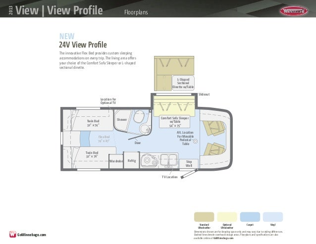 Winnebago View and View Profile 2013 Brochure