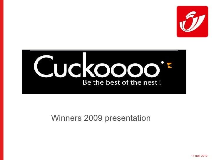 Winners 2009 presentation