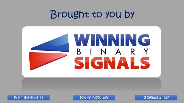 Binary options trading signals results