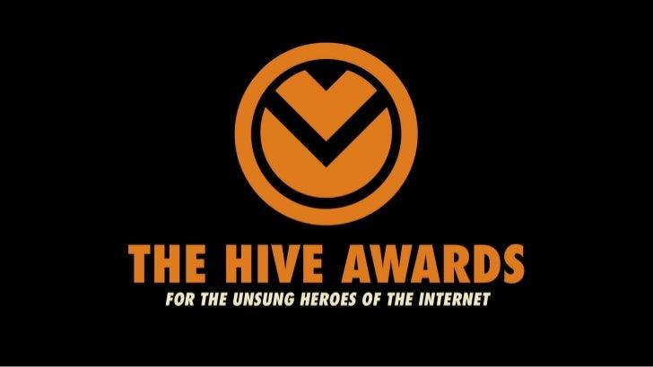 Hive Awards WInners
