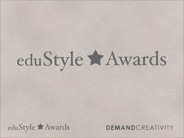 edu Style          Awardsedu Style   Awards