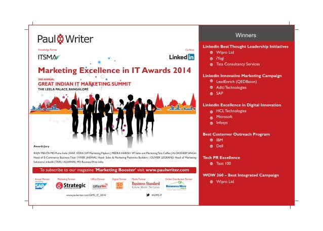 Marketing Excellence in IT Awards 2014