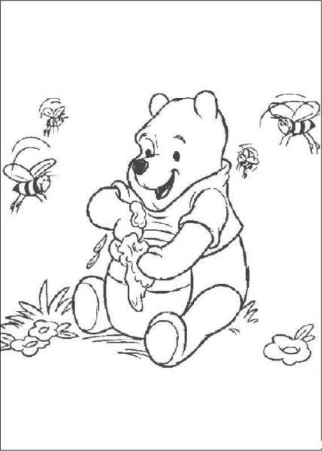 Winnie Pooh Da Colorare