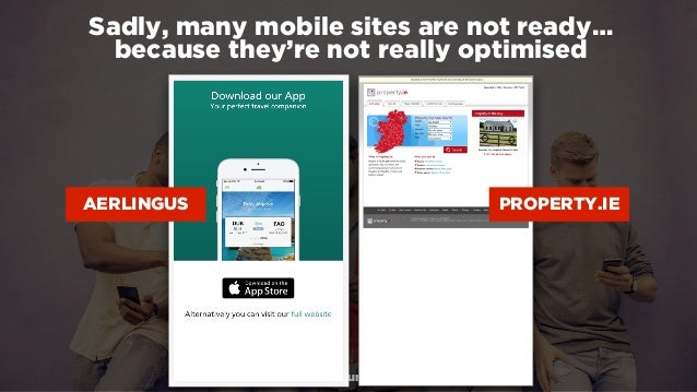 #winningmobile at #learninbound by @aleyda from @orainti Sadly, many mobile sites are not ready…  because they're not rea...