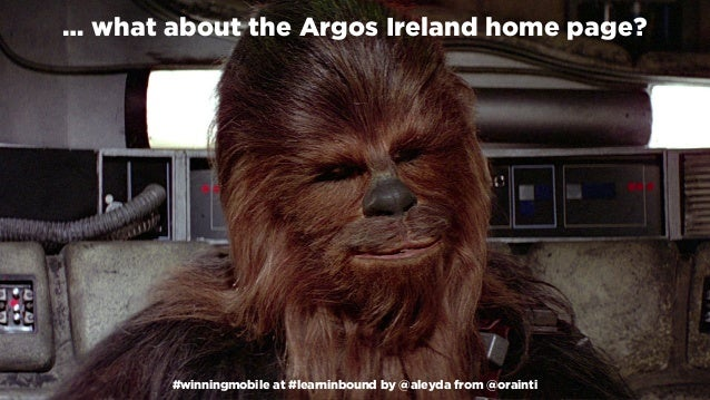 #winningmobile at #learninbound by @aleyda from @orainti … what about the Argos Ireland home page? #winningmobile at #lear...