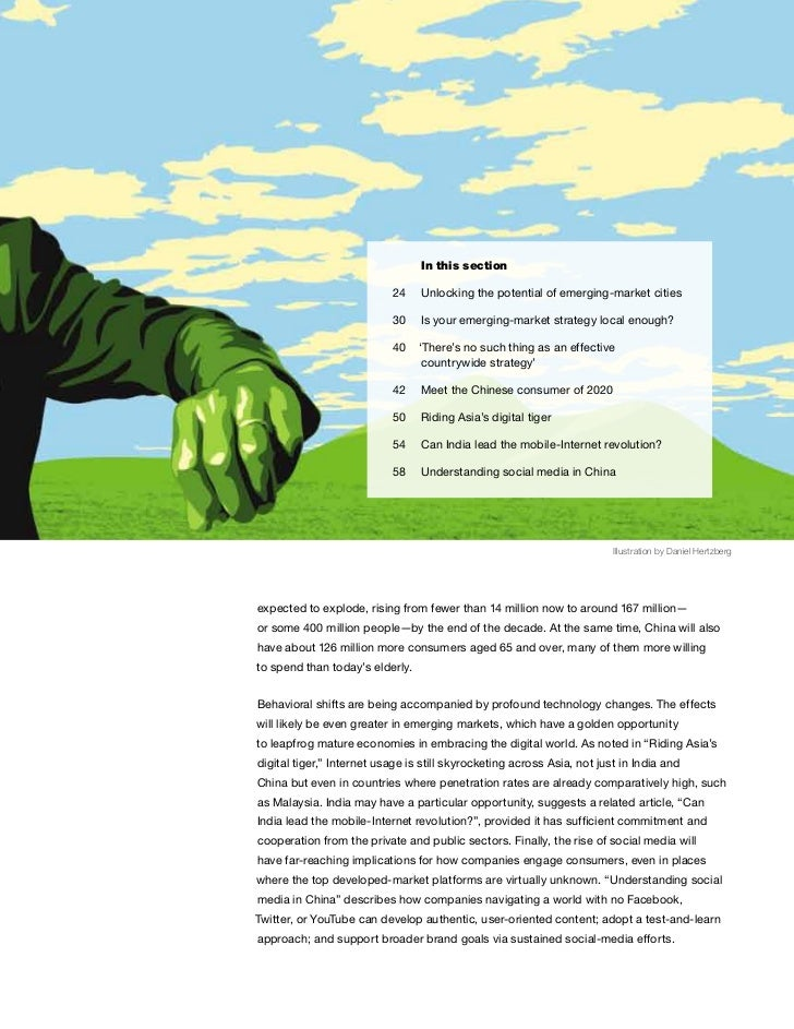 meet the chinese consumer of 2020 Read meet the 2020 chinese consumer, the full report on which this article is based, on the mckinsey greater china web site about the author(s) yuval atsmon is a principal in mckinsey's shanghai office, and max magni is a principal in the hong kong office.