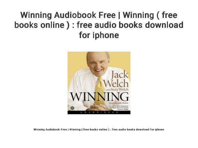 Winning audiobook download free mp3 online streaming | winning.