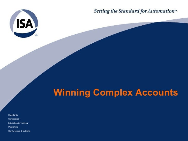 Winning   Complex   Accounts