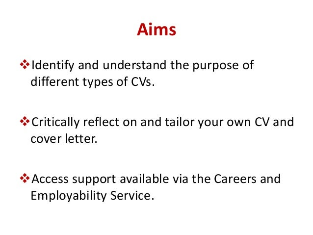 Do cvs need cover letter