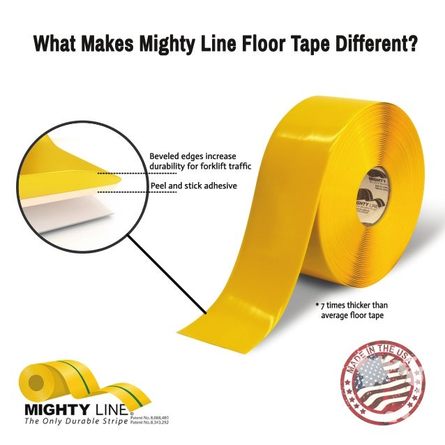 Stop painting and use heavy duty floor tape