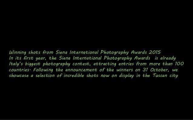 Winning Shots from Siena International Photography Awards 2015 Slide 2