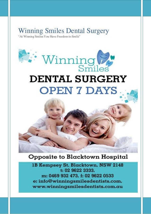"Winning Smiles Dental Surgery ""At Winning Smiles You Have Freedom to Smile"""