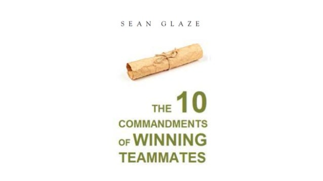 Every industry and organization needs winning teammates. Winning teammates are servant leaders. Winning Teammates are the ...