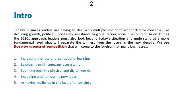 Winning the 2020s - The New Logic of Competition (BCG - collected by Truong Bomi) Slide 2